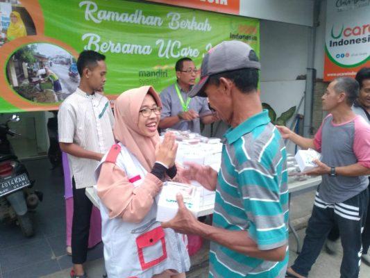 U-Care Indonesia Tebar 10 Ribu Ta'jil Selama Ramadhan BEKASIMEDIA.COM | MEDIA BEKASI SEJAK 2014
