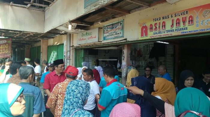 Warga Minta Nur Supriyanto Perbaiki Pasar Rama Durenjaya, Jika.. BEKASIMEDIA.COM |