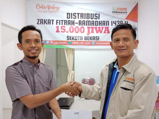 U-Care Indonesia Distribusikan 15.000 Paket Zakat BEKASIMEDIA.COM | MEDIA BEKASI SEJAK 2014