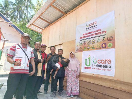 Masih Butuh Bantuan, U-Care Indonesia Terus Salurkan Donasi bagi korban Gempa Lombok BEKASIMEDIA.COM
