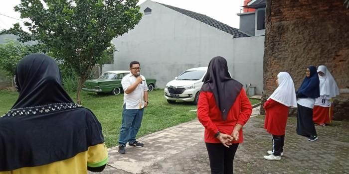 Caleg Muda Saiful Fathan Azizi Minta Doa Restu Emak-Emak Bekasi Barat BEKASIMEDIA.COM |