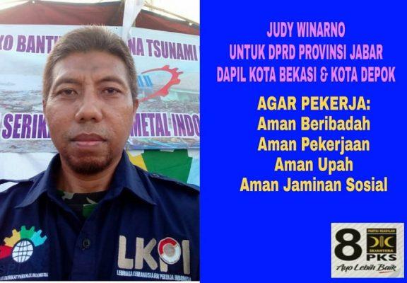 Judy Winarno Siap Perjuangkan Aspirasi Buruh di DPRD Jawa Barat BEKASIMEDIA.COM  