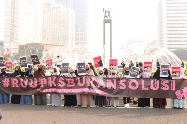 Penolak RUU P-KS: Kami Dibungkam! BEKASIMEDIA.COM | MEDIA BEKASI SEJAK 2014