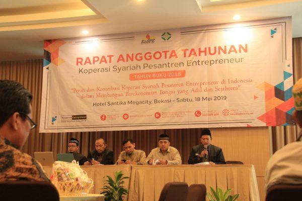 Koperasi Syariah Pesantren Entrepreneur, Bangkitkan Ekonomi Umat BEKASIMEDIA.COM  