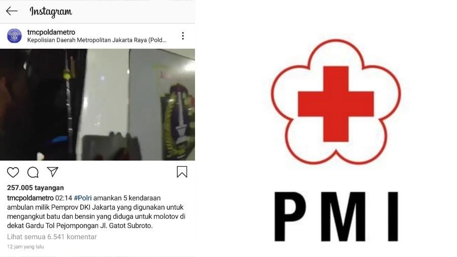 Dituding Ambulans dipakai Untuk Angkut Batu, Ini Kronologis Versi PMI BEKASIMEDIA.COM