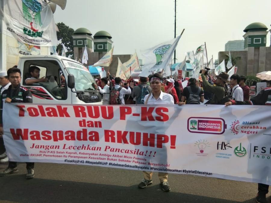 Giga Indonesia Tetap Menolak Pengesahan UU P-KS. Ini Alasan Lengkapnya BEKASIMEDIA.COM