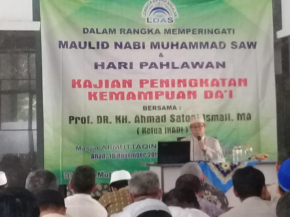 Peringati Maulid Nabi dan Hari Pahlawan, LDAS Bekasi Utara Adakan Pelatihan Da'i BEKASIMEDIA.COM  