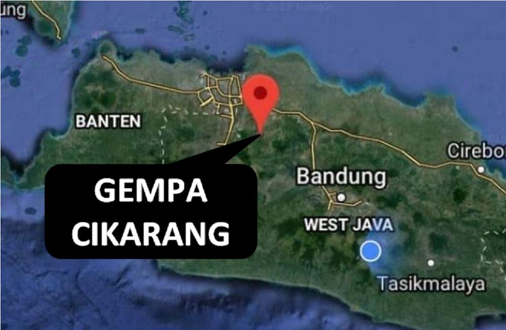 gempa cikarang