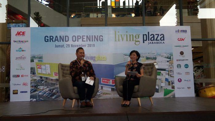 Living Plaza Jababeka Dibuka Bertabur Diskon BEKASIMEDIA.COM