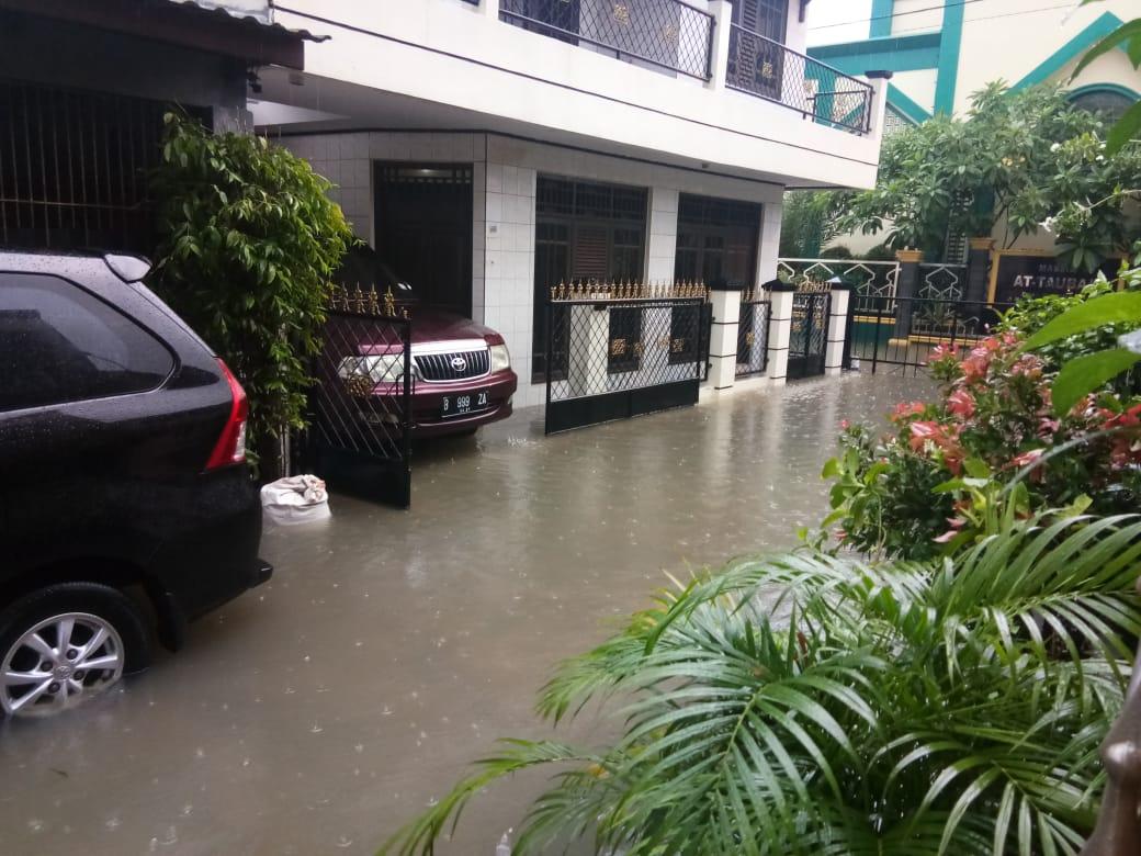 Perumahan Margahayu Bekasi Terdampak Banjir di Awal Tahun 2020 BEKASIMEDIA.COM |