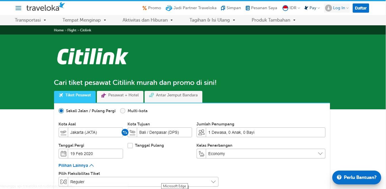 Tiket Citilink Traveloka Mudah dan Terjangkau BEKASIMEDIA.COM   MEDIA BEKASI SEJAK 2014