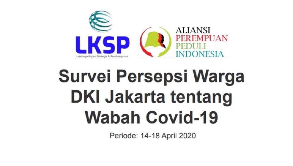 Warga Jakarta Lebih Puas Penanganan COVID-19 Oleh Pemprov DKI Jakarta Dibanding Pemerintah Pusat BEKASIMEDIA.COM | MEDIA BEKASI SEJAK 2014