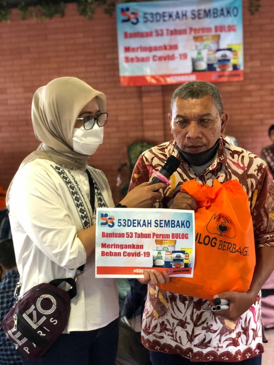 Milad ke 53, Bulog Gandeng Binaul Ummah Santuni Ratusan Tunanetra dan Pekerja Informal BEKASIMEDIA.COM | MEDIA BEKASI SEJAK 2014
