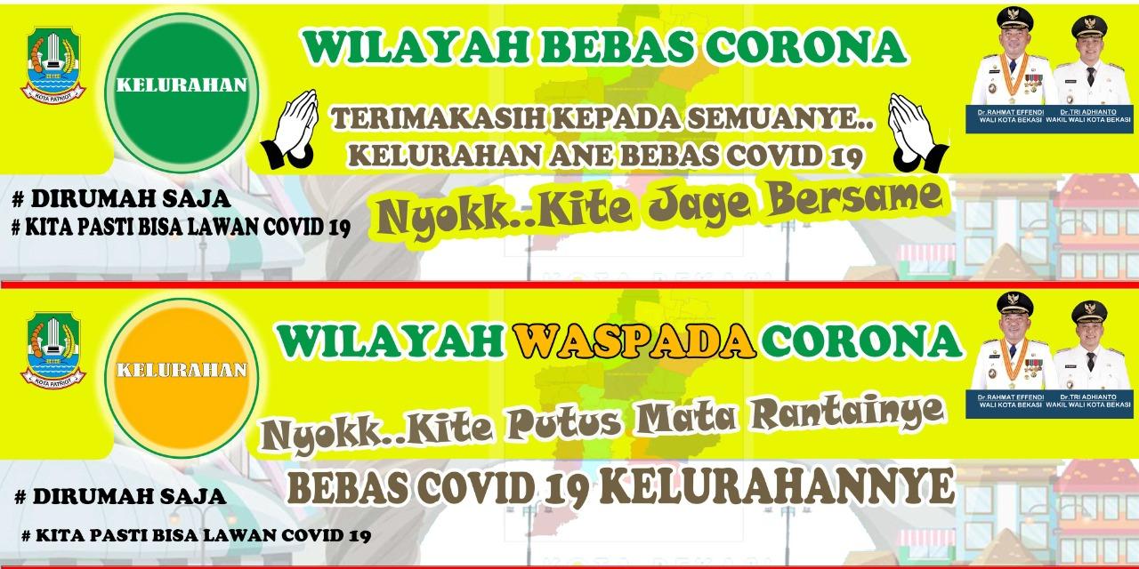 7 Kelurahan di Kota Bekasi Masuk Wilayah Bebas Corona BEKASIMEDIA.COM
