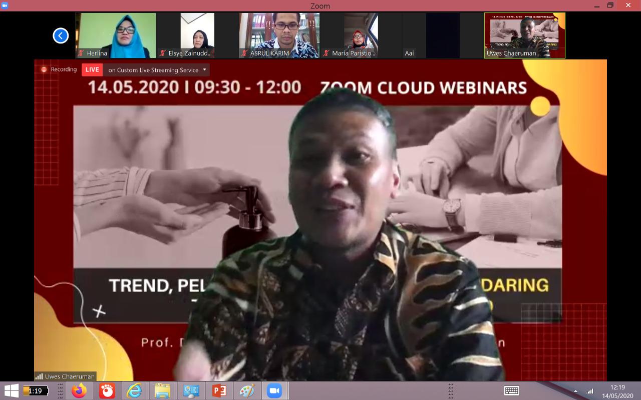 IKA Program Doktor Pascasarjana UNJ Gelar Seminar Daring Bahas Belajar di Masa Pandemi BEKASIMEDIA.COM | MEDIA BEKASI SEJAK 2014