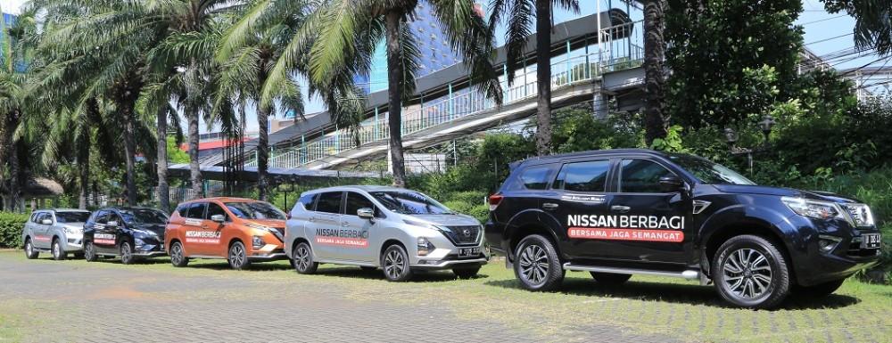 Nissan Pinjamkan Mobil Terbaiknya Untuk Relawan Gugus Covid-19 BEKASIMEDIA.COM