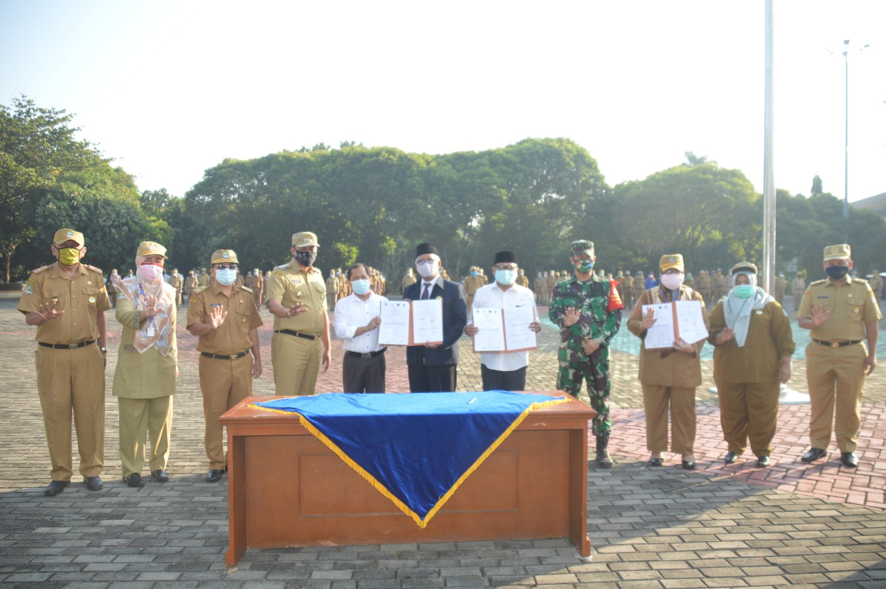 4 Sekolah Percontohan di Kota Bekasi Tandatangani MoU Pembelajaran Tatap Muka BEKASIMEDIA.COM |