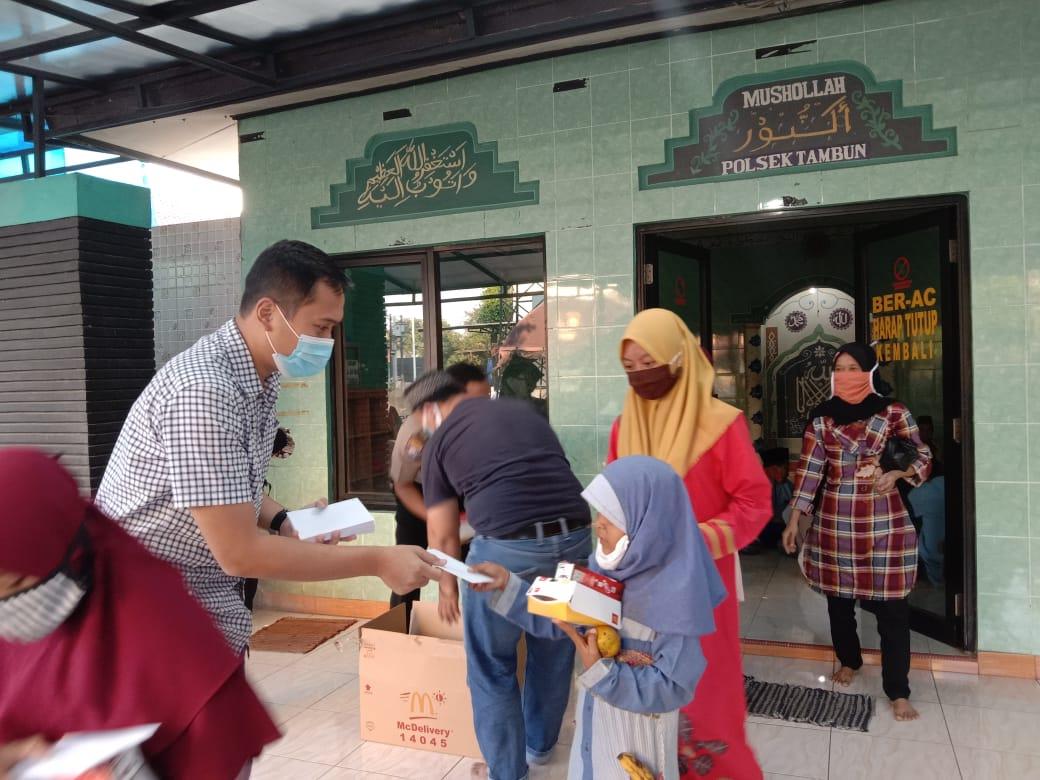 Polsek Tambun Berikan Santunan Yatim Piatu BEKASIMEDIA.COM | MEDIA BEKASI SEJAK 2014