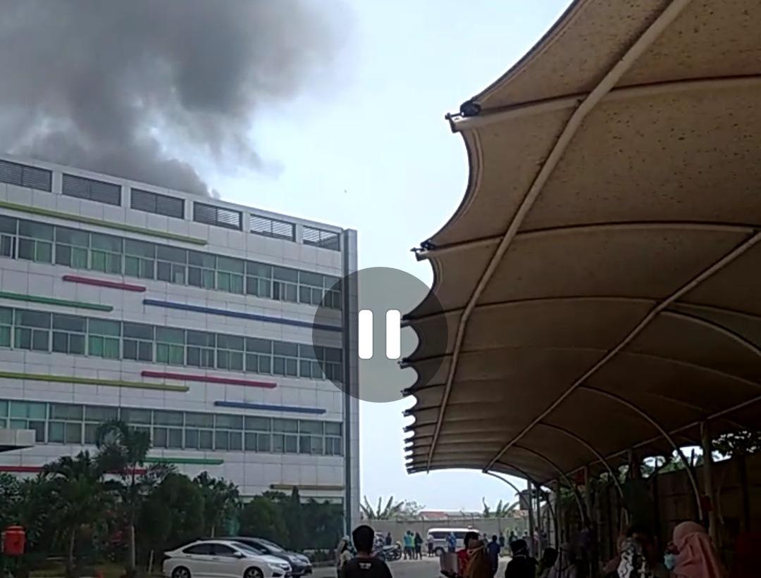 RSUD Kabupaten Bekasi Kebakaran BEKASIMEDIA.COM |