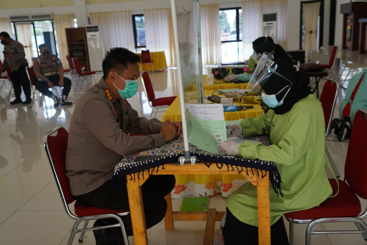 Polres Metro Bekasi Lakukan Donor Darah Plasma Konvalesen Pada Anggota Polsek Cikarang Barat BEKASIMEDIA.COM | MEDIA BEKASI SEJAK 2014