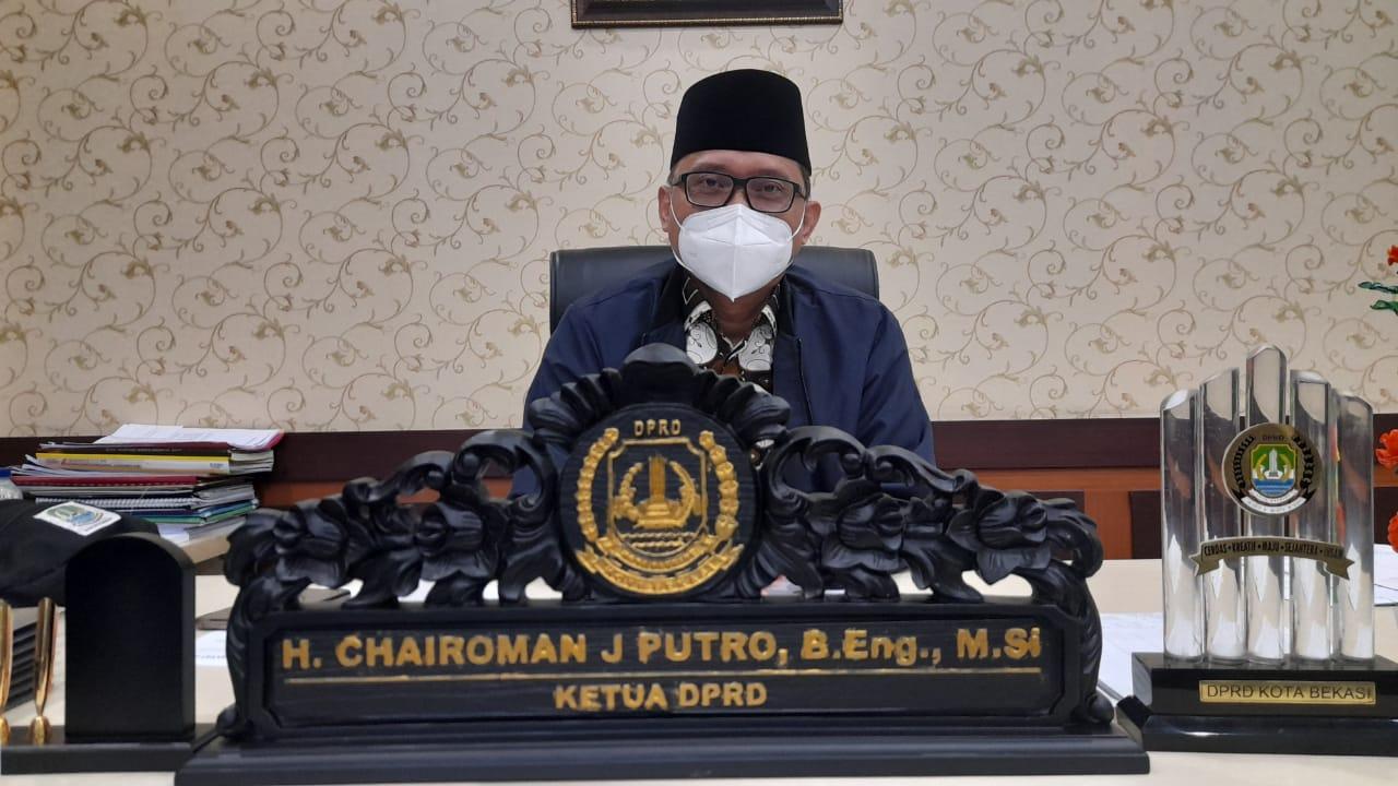 Ketua DPRD: Perda 6 Tahun 2020 Amanahkan Pemda Buat Rencana Induk Pembangunan Sistem Drainase BEKASIMEDIA.COM  