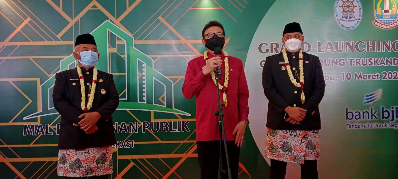 Pemkot Bekasi Resmikan Mal Pelayanan Publik Grha H. Dudung T. Ruskandi BEKASIMEDIA.COM