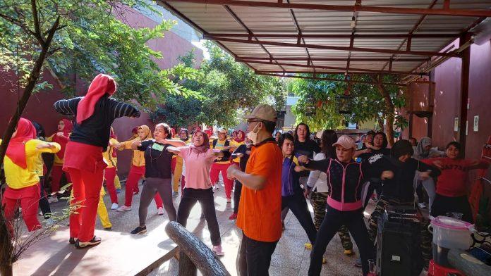 Ketua DPRD Bekasi Imbau Ibu-ibu Komunitas Senam Macan Garang Jadi Influencer Hidup Sehat BEKASIMEDIA.COM