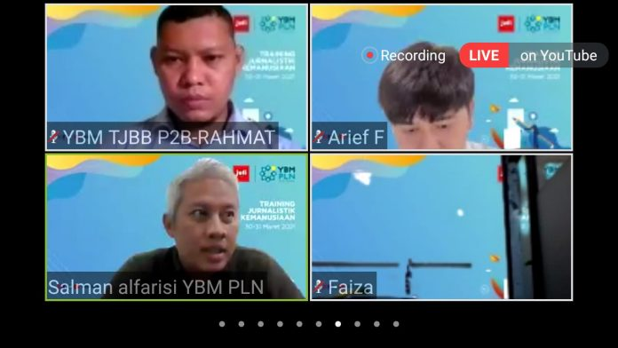 Jufi dan YBM PLN Gelar Pelatihan Jurnalistik Kemanusiaan BEKASIMEDIA.COM