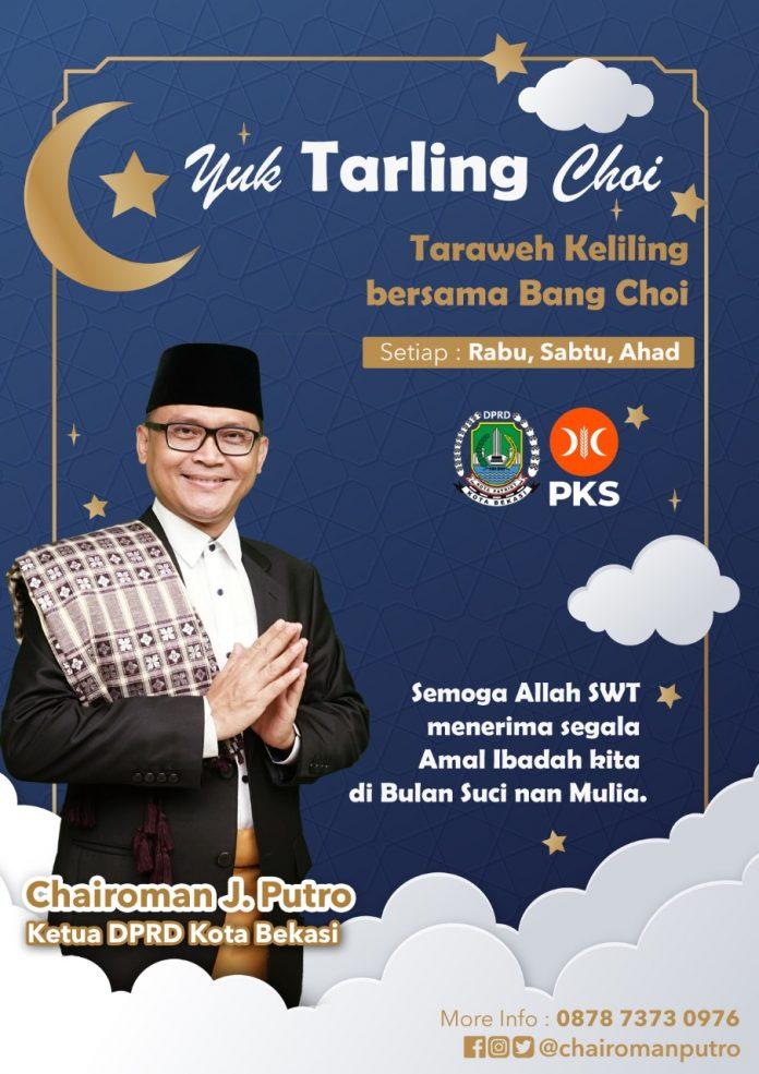 Ketua DPRD Kota Bekasi: Ramadhan adalah Hadiah Terbesar Allah kepada Umat Islam BEKASIMEDIA.COM |