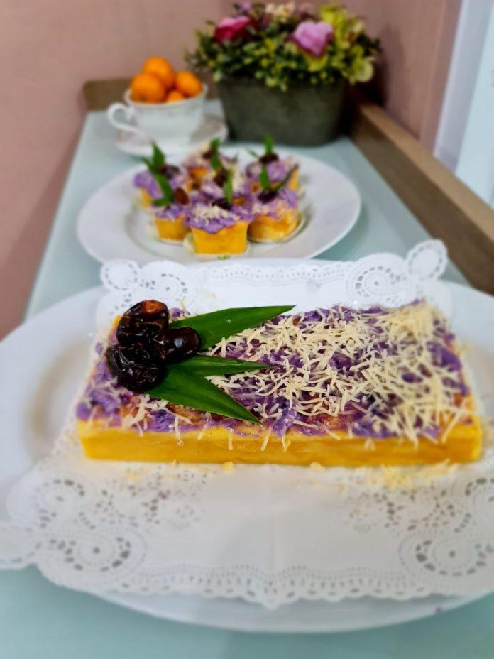 Cake Tela Telo: Kreasi Kudapan Takjil Sehat dari Bahan Umbi-umbian BEKASIMEDIA.COM  