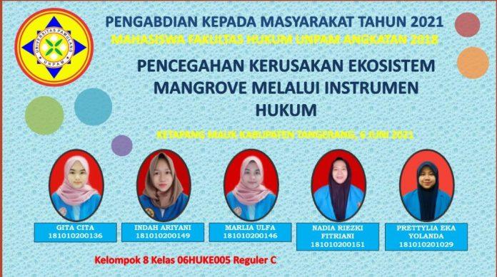 Mahasiswa FH Unpam Gandeng Pemkab Tangerang, PKM di Pesisir Mauk BEKASIMEDIA.COM |