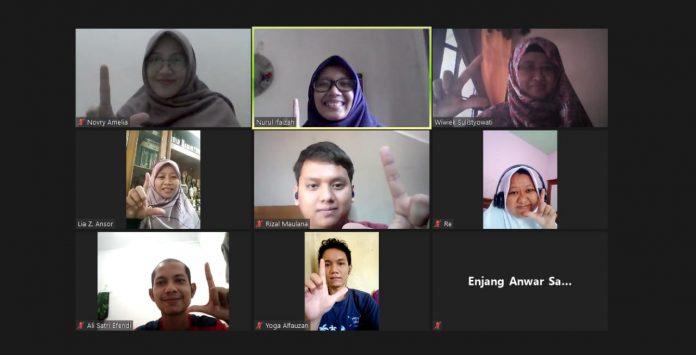 Halal Bihalal, FLP Bekasi Belajar Jurnalisme Kemanusiaan BEKASIMEDIA.COM |