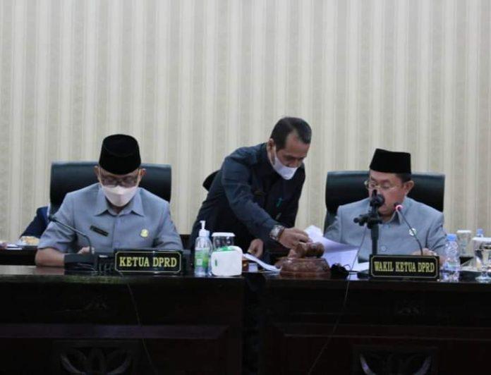 DPRD Kota Bekasi Rapat Paripurna Bahas Rancangan Perubahan KUA-PPAS Tahun Anggaran 2021 BEKASIMEDIA.COM |