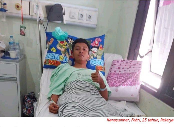 Operasi Hernia Lancar Berkat JKN-KIS BEKASIMEDIA.COM |